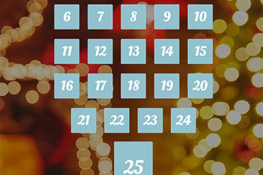 Our Advent calendar for 2018